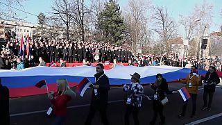 Celebrações controversas do Dia da Sérvia na Bósnia