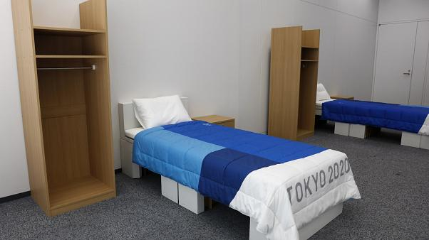 Tokyo Olimpiyatları: Çevreci yataklar için 'sekse dayanacak' garantisi