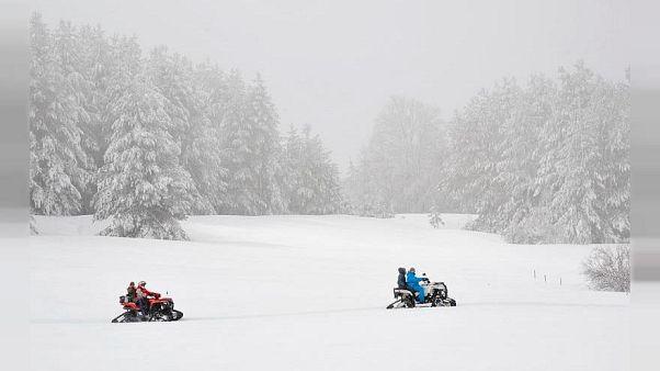 Ein Winterparadies muss schließen. Der Grund: Zu viel Schnee.