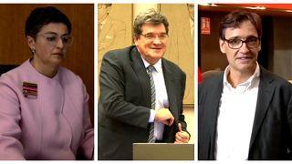 Arancha González, José Luis Escrivá y Salvador Illa, nuevos Ministros del Gobierno de España
