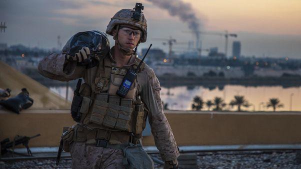 الجيش العراقي يعلن مقتل خمسة جنود ومدني في الضربات الأمريكية