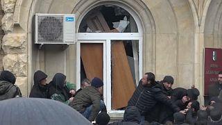 Cerco à sede presidencial da Abcásia