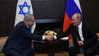 İsrail Başbakanı Binyamin Netanyahu ile Rusya Devlet Başkanı Vladimir Putin (ARŞİV)