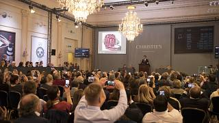 Inside an auction at Christie's