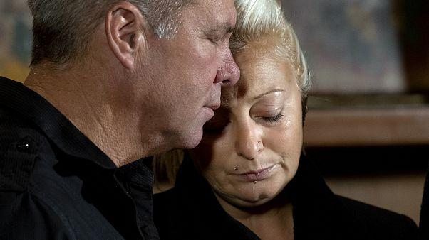 Trafik kazasında hayatını kaybeden Harry Dunn'ın annesi Charlotte Charles - Ekim 2019