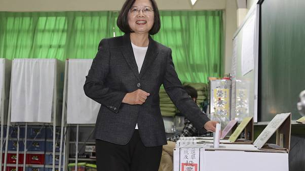 Tayvan Devlet Başkanı Tsai Ing-wen