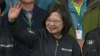 Taiwán apuesta por mantener las distancias con Pekín con el triunfo electoral de Tsai Ing-wen