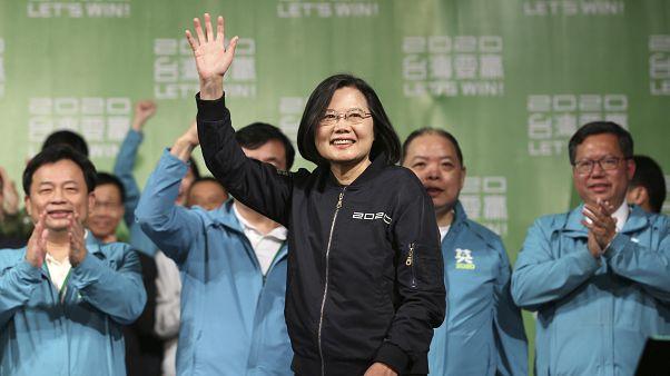 انتخاب تساي رئيسة لتايوان مجددا ب57 بالمئة من الأصوات