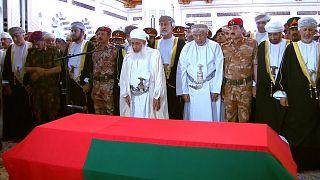 شاهد: تشييع جنازة السلطان قابوس بن سعيد