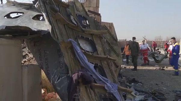 """Irán derribó por """"error"""" el avión ucraniano con 176 personas"""