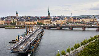 İsveç'in Stockholm şehri