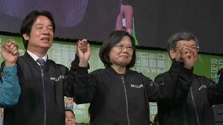Erős üzenet Kínának Tajvanról