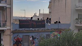 Ανακατάληψη κτιρίων στο Κουκάκι από αντιεξουσιαστές