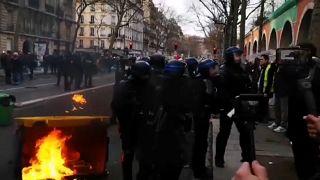 Streik-Tag 38: 149.000 protestieren gegen Rentenreform in Frankreich
