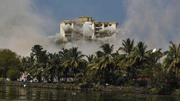 Indien: Über 340 Luxuswohnungen gesprengt