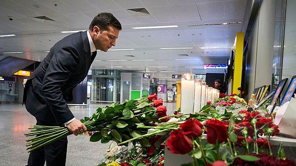 رئیس جمهور اوکراین از پرداخت غرامت به خانواده قربانیان سقوط هواپیما خبر داد