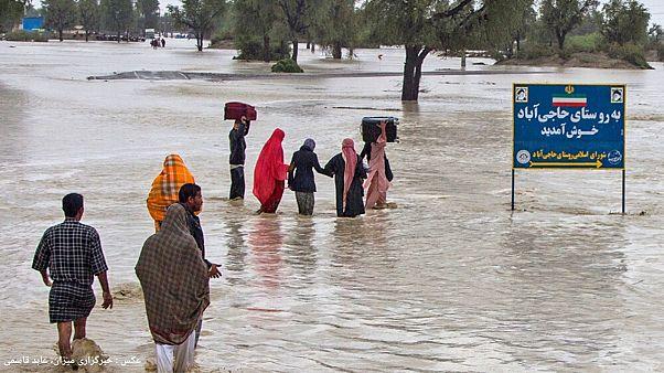 عکس از سیل استان هرمزگان