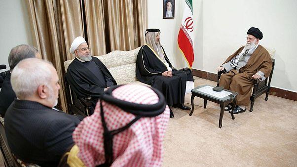 علی خامنهای در دیدار با امیر قطر: نیازمند تقویت ارتباطات کشورهای منطقه هستیم