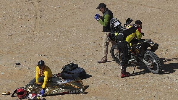 Mort d'un pilote portugais sur le rallye-Dakar