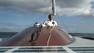 Через Атлантику на серфинге с вёслами