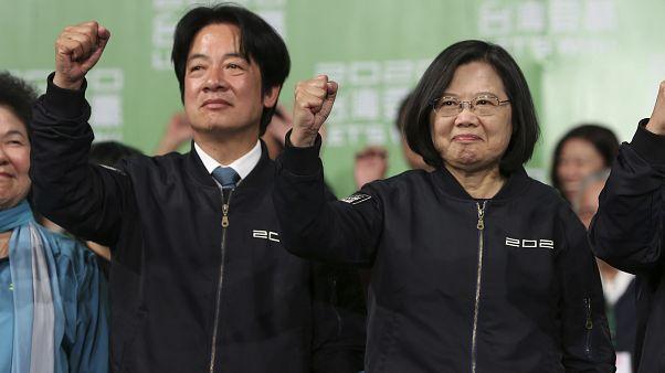 الصين تدين تهنئة الولايات المتحدة لرئيسة تايوان بفوزها بالانتخابات