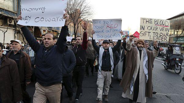 Folytatódtak a tüntetések Teheránban