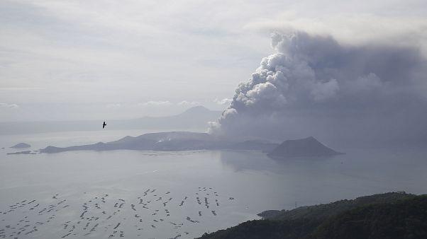Φιλιππίνες: Έκρηξη του ηφαιστείου Ταάλ