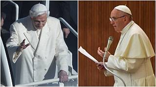 Papa 16. Benedikt ve Papa Francis