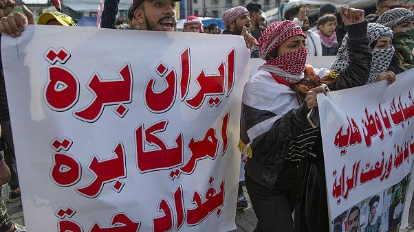 بحران عراق: واکنش پمپئو به حمله راکتی به پایگاه بلد؛ معترضان دفتر سپاه بدر را در کربلا به آتش کشیدند