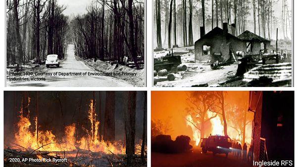 Αυστραλία: Από την «Μαύρη Παρασκευή» του 1939 στις σημερινές πυρκαγιές - BINTEO