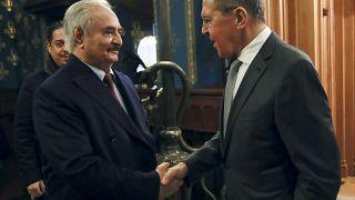Cessar-fogo líbio negociado em Moscovo
