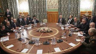 Переговоры в Москве.
