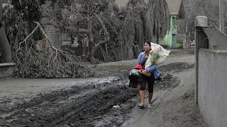 Boso-Boso, Batangas province, southern Philippines on Tuesday, Jan. 14, 2020.