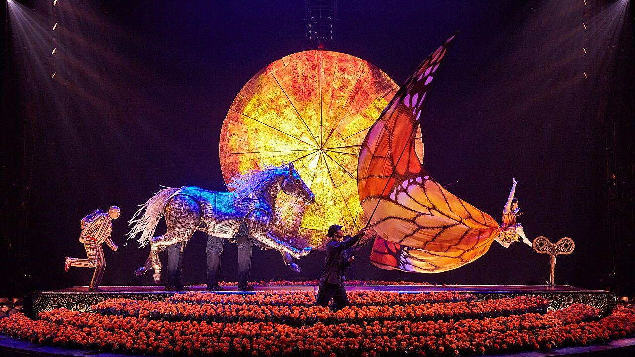 Cirque du Soleil leva México à Europa