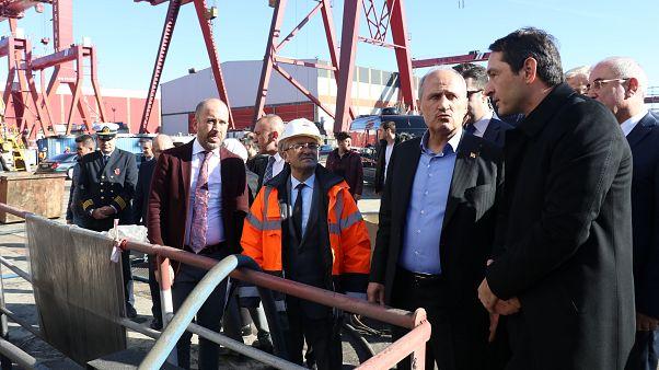 Ulaştırma ve Altyapı Bakanı Cahit Turhan