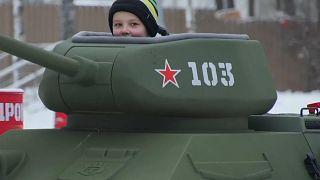 Сокольники: на Т-34 с ветерком