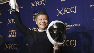Japon milyarder iş insanı Yusaku Maezawa