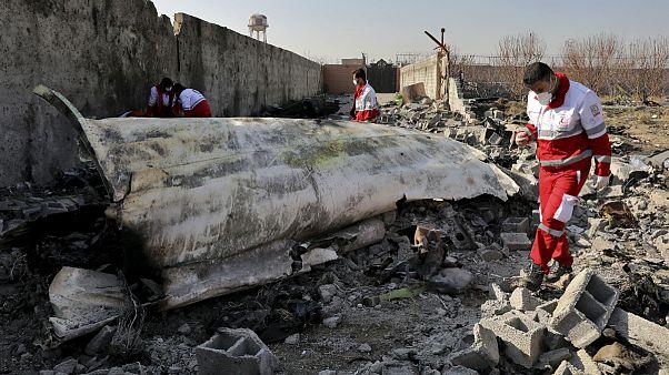 ساقط شدن هواپیمای مسافربری اوکراین در ایران