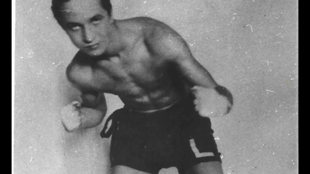Foto del boxeador polaco Tadeusz Pietrzykowski