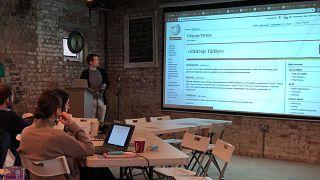 Londra'da Türkçe konuşanlara Vikipedi eğitimi