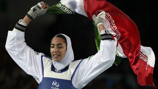 Олимпийская медалистка покинула Иран