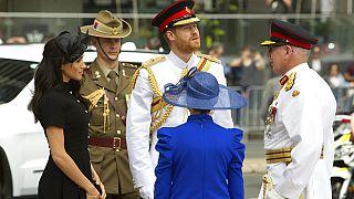 Queen Elizabeth II: Harry and Meghan 'have my support'