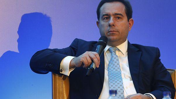 Ο υφυπουργός Εργασίας και Κοινωνικών Υποθέσεων αρμόδιος για θέματα κοινωνικής ασφάλισης Νότης Μηταράκης