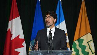 Kanada Başbakanı Justin Trudeau İran'ın düşürdüğü uçakta hayatını kaybedenleri anma töreninde konuştu