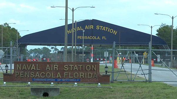 Base naval de Pensacola, en Florida, donde se formaban los cadetes saudíes