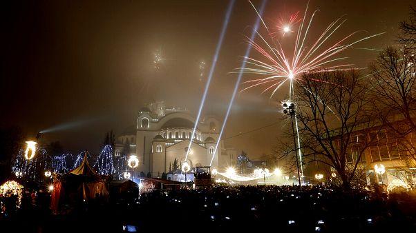Ortodox Újév Belgrádban