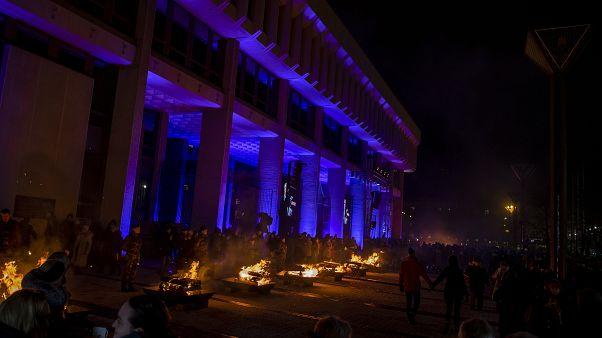 В Вильнюсе прошла церемония памяти жертв событий января 1991-го года