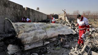 İran, füzeyle düşürülen yolcu uçağının kara kutusunu Ukrayna'ya gönderecek
