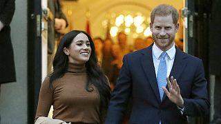 شاهزاده هری و همسرش مگان مارکل