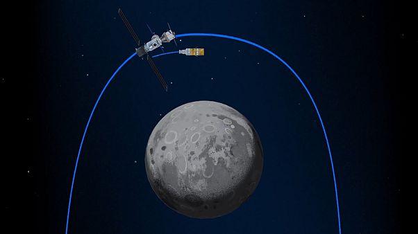 گزارشهای یورونیوز از فضا؛ بازگشت به ماه مقدمه گام نهادن بر مریخ است